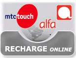 Recharge your MTC or Alfa Line with one of our recharge cards!